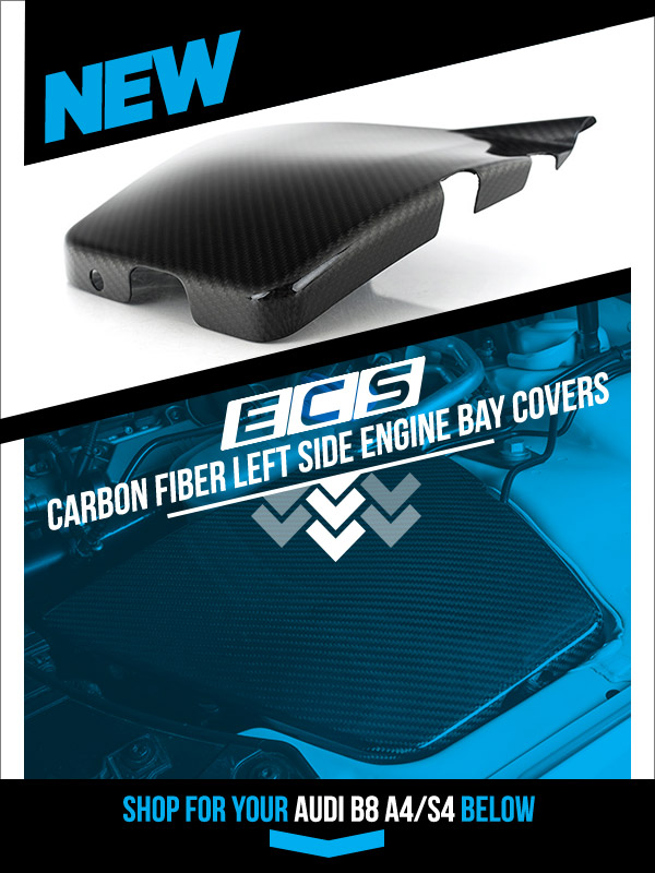 Introducing The New Ecs Carbon Fiber Left Side Engine Bay Cover