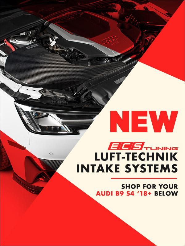 NEW! ECS B9 S4 Kohlefaser and Luft-Technik Air Intake