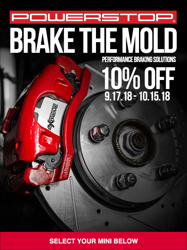 Power Stop Brakes >> Powerstop 10 Off North American Motoring