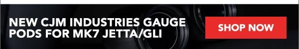 New CJM Industries Gauge Pods For MK7 Jetta/GLI