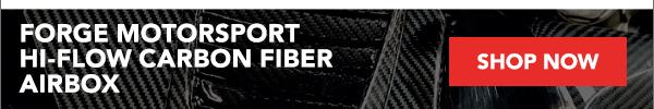 Forge Motorsport Hi-Flow Carbon Fiber Airbox