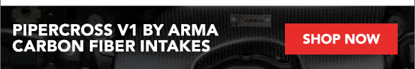 New Pipercross V1 By ARMA Carbon Fiber Intakes