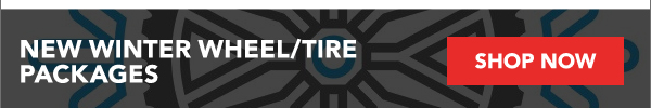 New Winter Wheel/Tire Packages